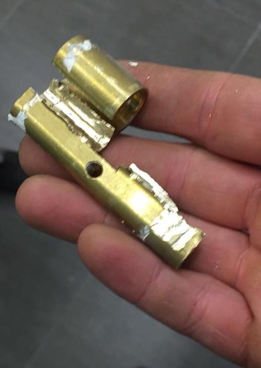 cilindro rotto effrazione ladri cosmai porte